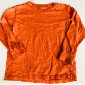 Crewcuts 4/5 orange long sleeve top